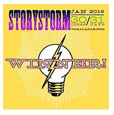 Storystorm Jan 2018 Winner